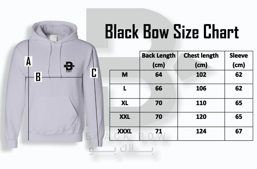 Black Bow Zip Hooded Sweatshirt code 301 - O2morny.com