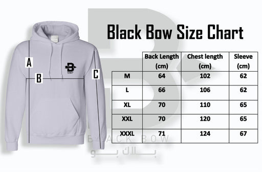 Black Bow Hooded Sweatshirt code 304