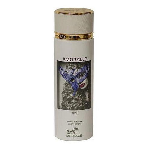 Amoralle Noir By Montage Perfume Spray For Women, 200 Ml