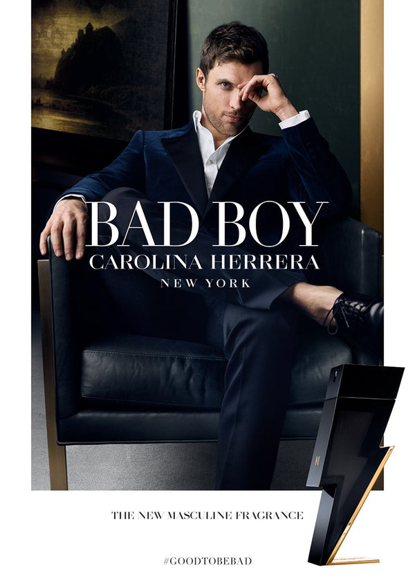 Carolina Herrera Bad Boy Eau De Toilette for Men 100ml