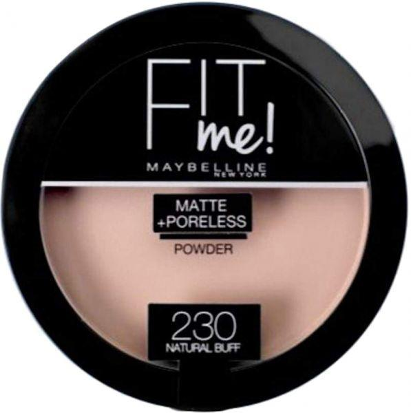 Maybelline New York Fit Me Matte & Poreless Powder – 230 Natural Buff