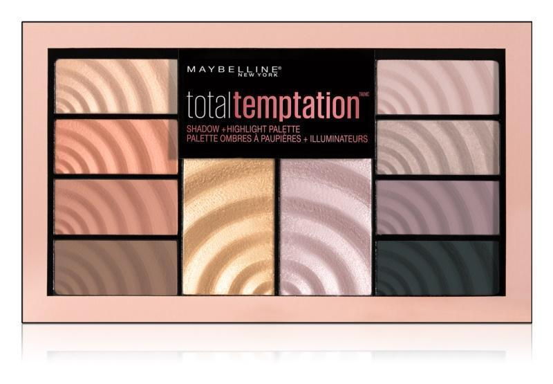 Maybelline Total Temptation shadow palette - O2morny.com