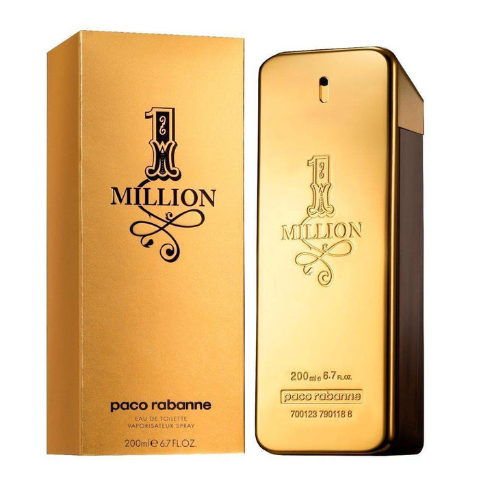 Paco rabanne One million 200ml EDT for men