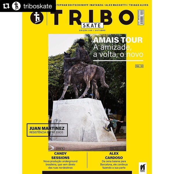 Alex Cardoso's Interview in Tribo Skate, Brazil