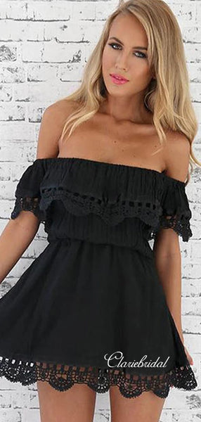 Off The Shoulder Homecoming Dresses, Fashion Short Prom Dresses