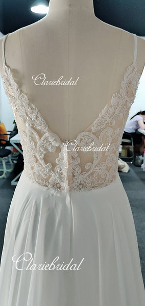 Feedback for Chiffon Beaded Wedding Dresses