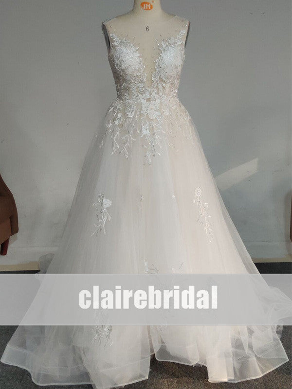 Feedback for Lace Tulle Chic Wedding Dresses