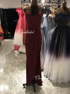Feedback for Jersey Side Slit Bridesmaid Dresses