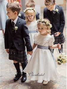 Princess Flower Girl Dresses, A-line Little Girl Wedding Dresses
