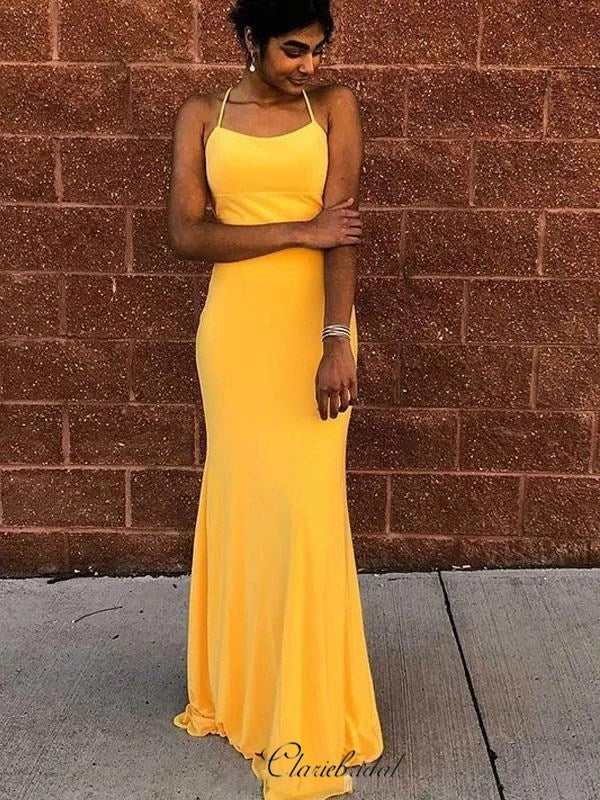 Simple Cheap Long Prom Dresses, 2020 Newest Mermaid Prom Dresses