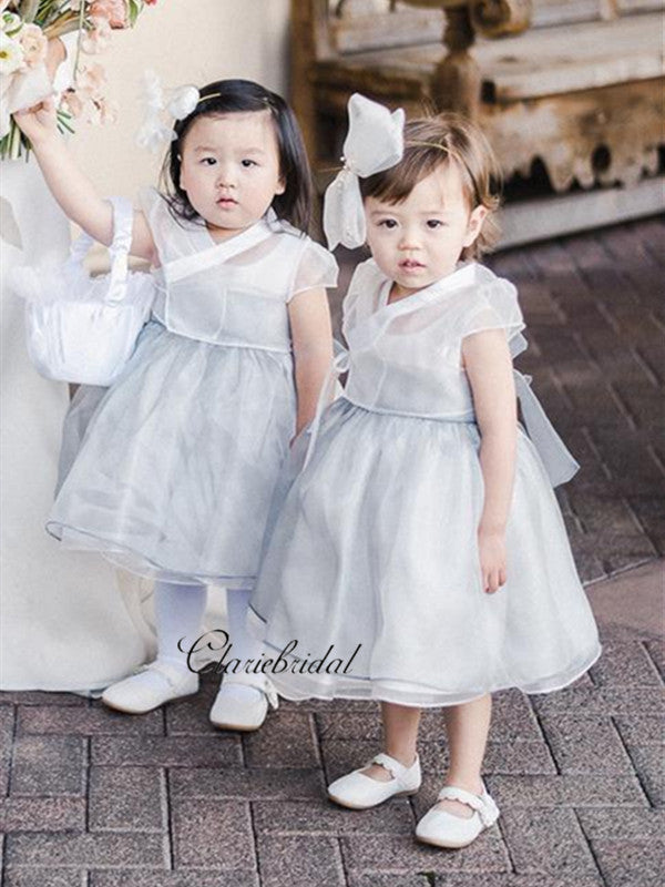 Cute Princess A-line Flower Girl Dresses, Little Girl A-line Flower Girl Dresses