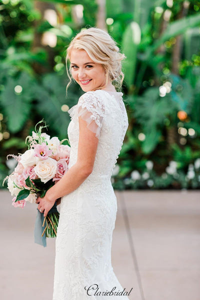 Fantastic Lace Wedding Dresses, Newest Popular Summer Wedding Dresses