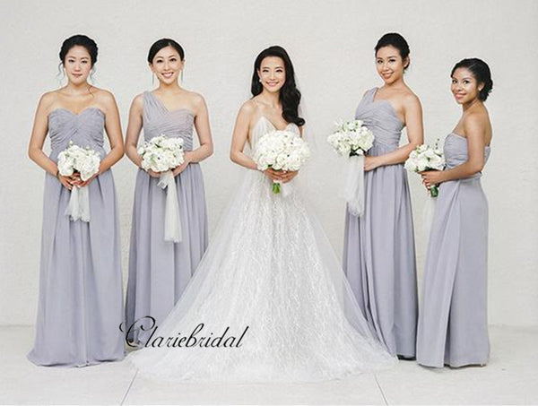 Sweetheart Purple Fancy Wedding Guest Dresses, New Bridesmaid Dresses