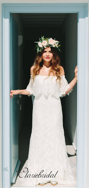 New Fashion Lace Wedding Dresses, Popular Beach Wedding Dresses
