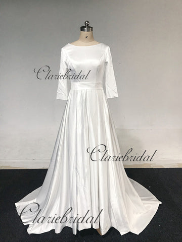 Feedback For Half Sleeves Wedding Dresses