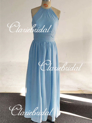 Feedback For Light Blue Chiffon Bridesmaid Dresses