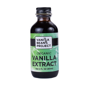 Organic Vanilla Extract Two Ounces