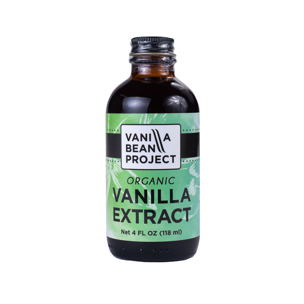 Organic Vanilla Extract Four Ounces
