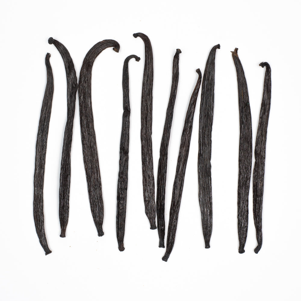 10 Pack Papua New Guinea Whole Vanilla Beans