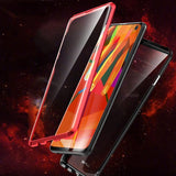 Magnetic  Tempered Glass Two sides Glass  Phone Case For Samsung S10/S10PLUS/S10e