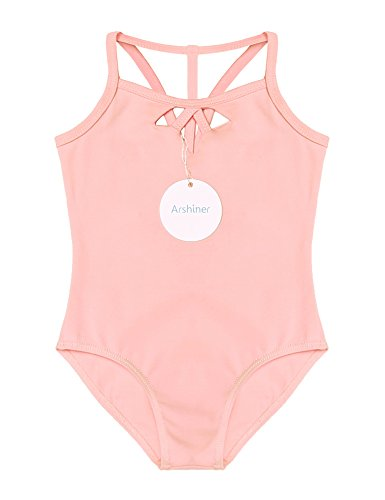 Arshiner Girls Ballet Dance Straps Camisole Leotard