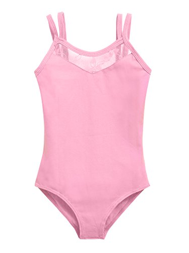 Arshiner Kids Girl's Dance Lace Slim Camisole Leotards