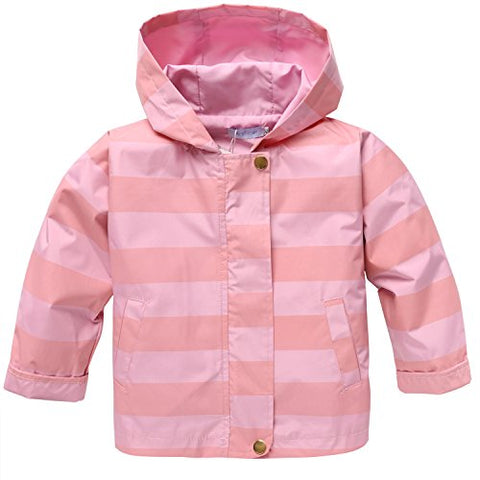 Arshiner Baby Girls Kids Rain Coat Jacket