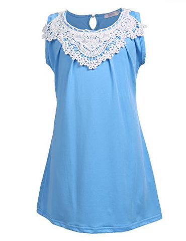 Arshiner Girls A-line Sleeveless Dress Solid Casual Dresses