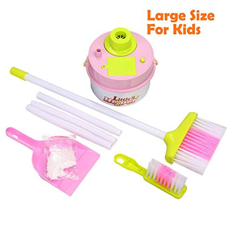 (US Stock) Arshiner Toddlers Kids Mini Housekeeping Cleaning Supplies Pretend Play Toys