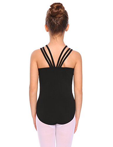 Arshiner Kids Girls Classic Double Strap Tank Leotard
