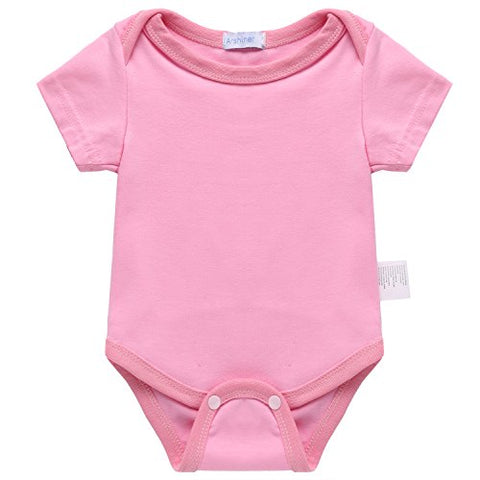 Arshiner Baby Infant Unisex O-Neck Short Sleeve One-Pieces Rompers Bodysuits