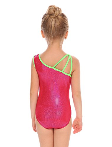 Arshiner Girls Sparkle Camisole Gymnastics Leotard