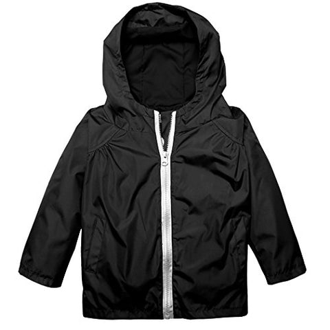 Arshiner Little Kid Waterproof Jacket Outwear Raincoat