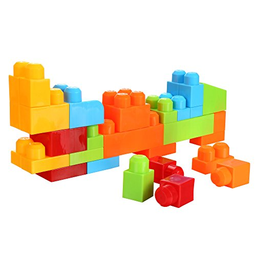 Arshiner Building Block Bricks Set Cube Puzzle Shape Matching Game