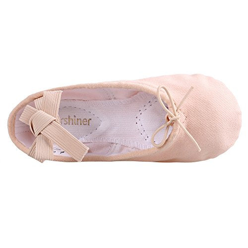 Arshiner Girls Dance Slipper Kids Ballet Shoes