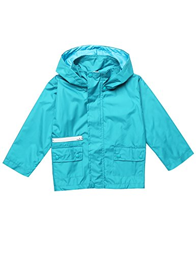 Arshiner Kids Rain Jacket Outwear Coat