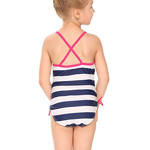 Arshiner Girls' Strap One Piece Bathing Swimsuit