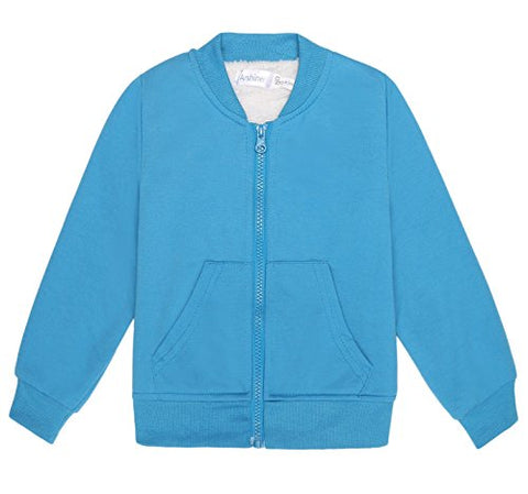 Arshiner Toddler Boys Fleece Varsity Jacket