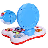 Arshiner Baby Kids Floor Mirror Lighting Musical Learning Machine Toys