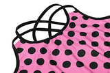 Arshiner Kids Girl 2PCS Sleeveless Polka Dot Top Bra and Shorts Swimsuit or Leotard Dancing Clothes