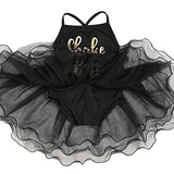 Arshiner Girls Camisole Ballet Tutu Leotard Bodysuit Dance Braces Skirts