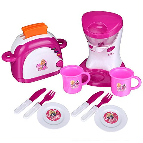 Arshiner Kitchen Pretend Play Toy Set Mixer Toaster Tools
