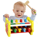 Arshiner Baby Educational Learning Wooden Classic Pop-Up Toys