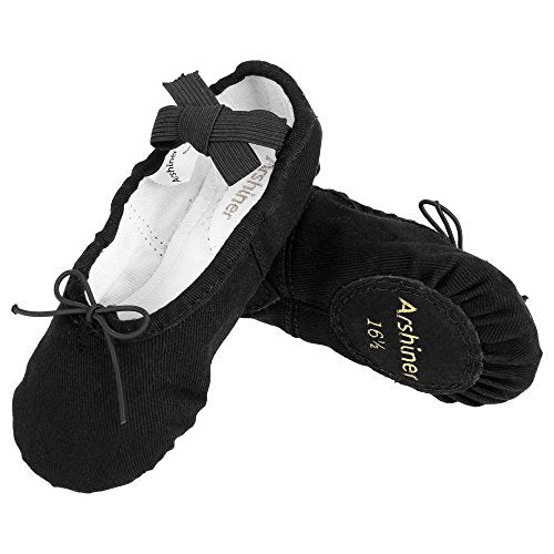 Arshiner Kid Girl's Classic Ballet Dancing Yoga Shoes