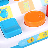 Arshiner Baby Pop Up Activity Colorful Animal Shapes Early Development Toys
