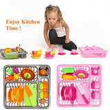 Arshiner Pretend Kitchen Play Washing Dishes Pots