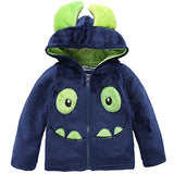 Arshiner Baby Girls Cartoon Animal Hooded Jacket Outerwear