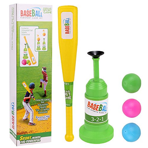 Arshiner Semi-Automatic Launcher Kids Baseball Toy
