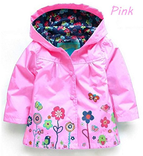 Arshiner Baby Waterproof Hooded Coat