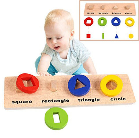 Arshiner Toddler Learning Cognitive and Matching Board Toy